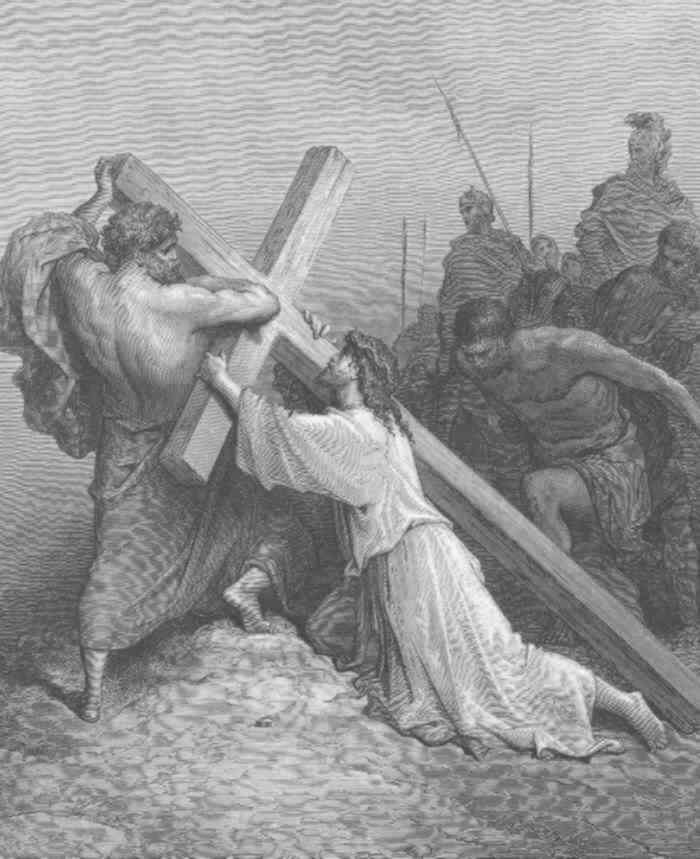 Passion Of The Christ Jesus Carrying The Cross | www ...